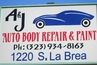 A & J Auto Body Repair & Paint